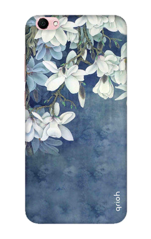 White Flower Vivo Y66 Cases & Covers Online