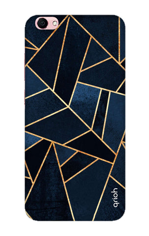 Abstract Navy Vivo Y66 Cases & Covers Online