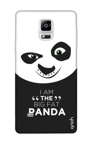 Big Fat Panda Samsung Note 4 Cases & Covers Online