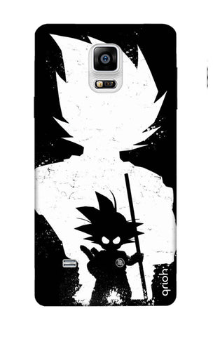 Goku Unleashed Samsung Note 4 Cases & Covers Online