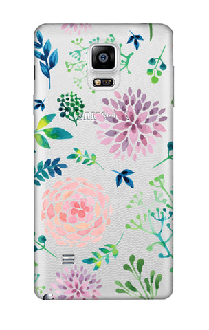 Lillies, Orchids And Leaves Samsung Note 4 Cases & Covers Online