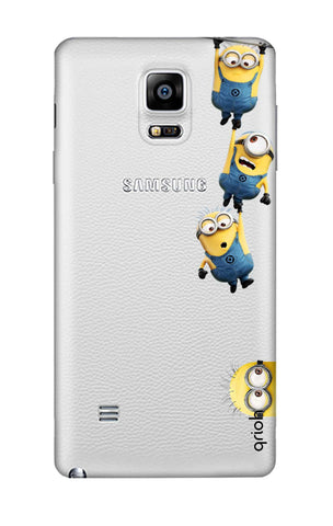 Falling Minions Samsung Note 4 Cases & Covers Online