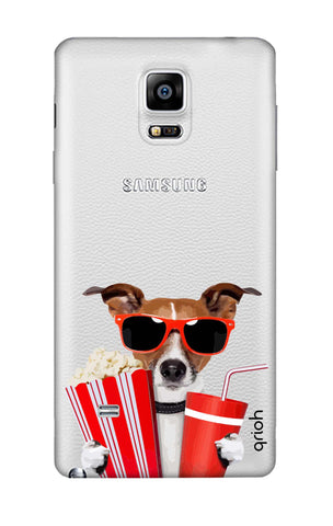 Dog Watching 3D Movie Samsung Note 4 Cases & Covers Online
