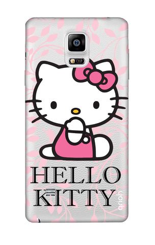 Hello Kitty Floral Samsung Note 4 Cases & Covers Online