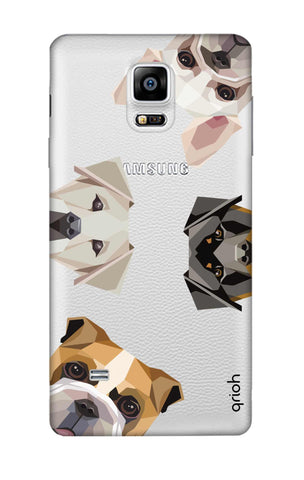 Geometric Dogs Samsung Note 4 Cases & Covers Online