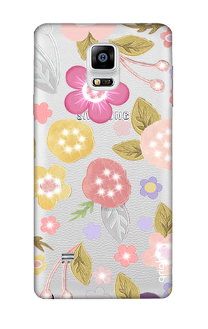 Multi Coloured Bling Floral Samsung Note 4 Cases & Covers Online