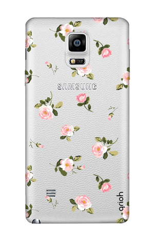 Pink Rose All Over Samsung Note 4 Cases & Covers Online