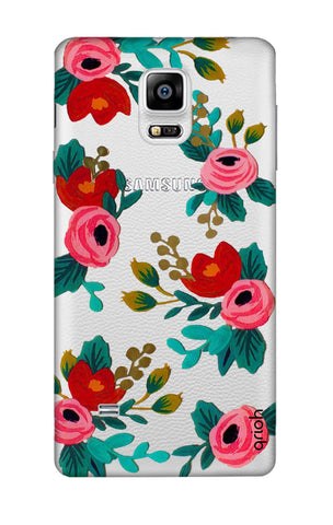 Red Floral Samsung Note 4 Cases & Covers Online