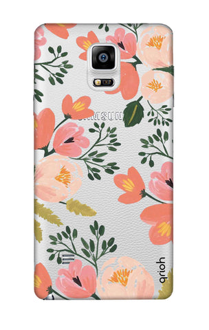 Painted Flora Samsung Note 4 Cases & Covers Online