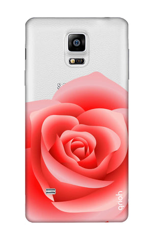 Peach Rose Samsung Note 4 Cases & Covers Online