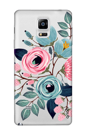 Pink And Blue Floral Samsung Note 4 Cases & Covers Online