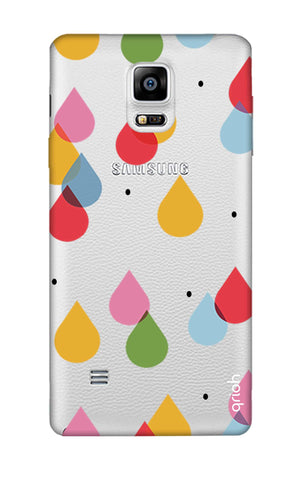 Colourful Drops Samsung Note 4 Cases & Covers Online
