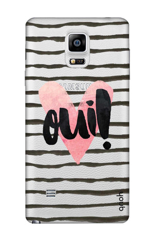Oui! Samsung Note 4 Cases & Covers Online