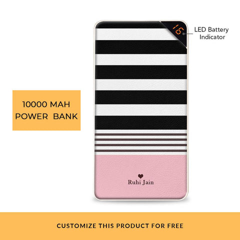 Irregular Streak Customized Power Bank
