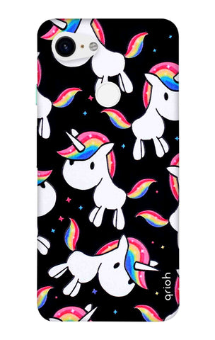 Colourful Unicorn Google Pixel 3 XL Cases & Covers Online