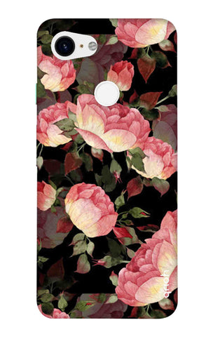 Watercolor Roses Google Pixel 3 XL Cases & Covers Online