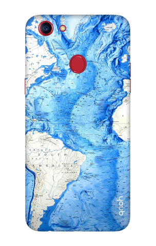 World Map Oppo F7 Youth Cases & Covers Online