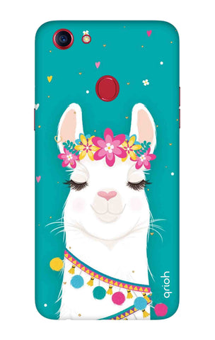 Cute Llama Oppo F7 Youth Cases & Covers Online