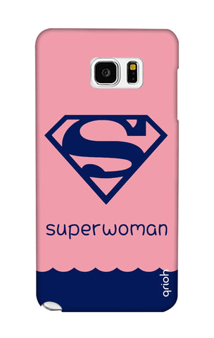 Be a Superwoman Samsung Note 5 Cases & Covers Online