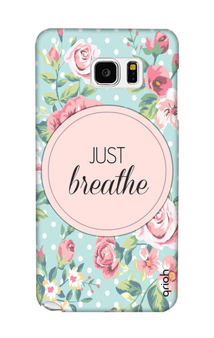Vintage Just Breathe Samsung Note 5 Cases & Covers Online