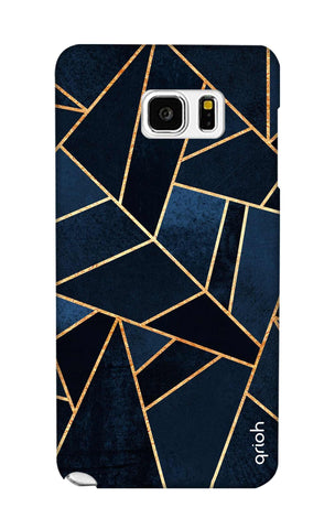 Abstract Navy Samsung Note 5 Cases & Covers Online