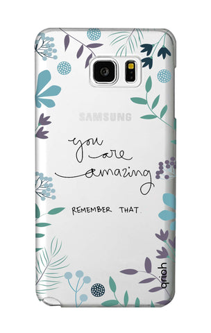 You're Amazing Samsung Note 5 Cases & Covers Online