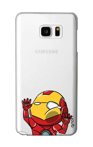 Iron Man Wall Bump Samsung Note 5 Cases & Covers Online