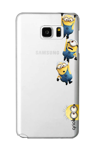 Falling Minions Samsung Note 5 Cases & Covers Online
