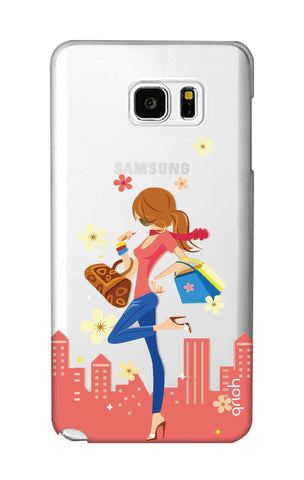 Shopping Girl Samsung Note 5 Cases & Covers Online