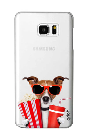 Dog Watching 3D Movie Samsung Note 5 Cases & Covers Online