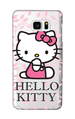 Hello Kitty Floral Samsung Note 5 Cases & Covers Online