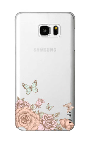 Flower And Butterfly Samsung Note 5 Cases & Covers Online