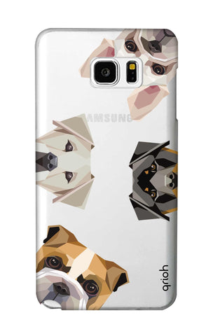 Geometric Dogs Samsung Note 5 Cases & Covers Online