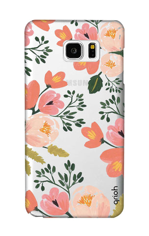 Painted Flora Samsung Note 5 Cases & Covers Online