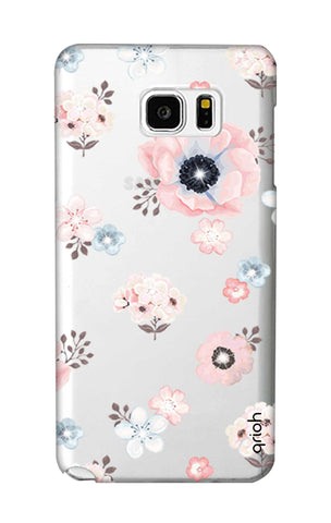 Beautiful White Floral Samsung Note 5 Cases & Covers Online