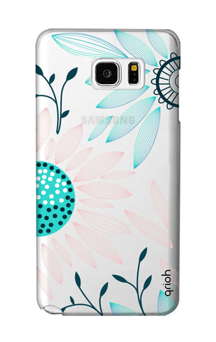 Pink And Blue Petals Samsung Note 5 Cases & Covers Online