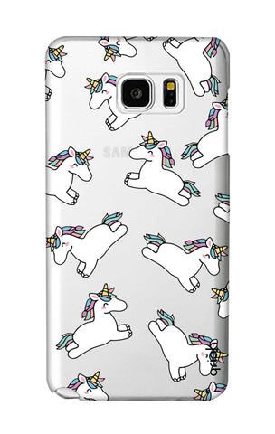 Jumping Unicorns Samsung Note 5 Cases & Covers Online