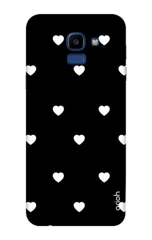 White Heart Samsung Galaxy ON6 Cases & Covers Online