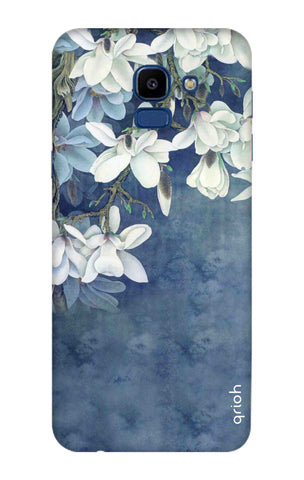 White Flower Samsung Galaxy ON6 Cases & Covers Online
