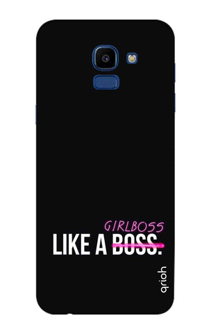 Like A Girl Boss Samsung Galaxy ON6 Cases & Covers Online