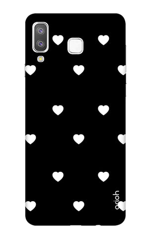 White Heart Samsung Galaxy A8 Star Cases & Covers Online