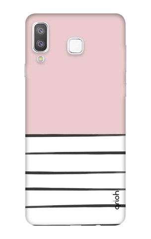 Horizontal Stripe Samsung Galaxy A8 Star Cases & Covers Online