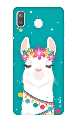 Cute Llama Samsung Galaxy A8 Star Cases & Covers Online