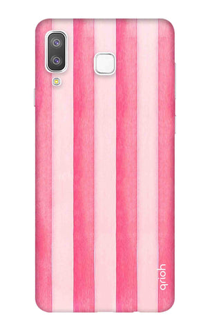 Painted Stripe Samsung Galaxy A8 Star Cases & Covers Online
