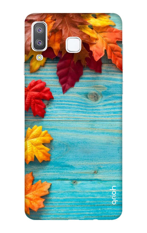 Fall Into Autumn Samsung Galaxy A8 Star Cases & Covers Online
