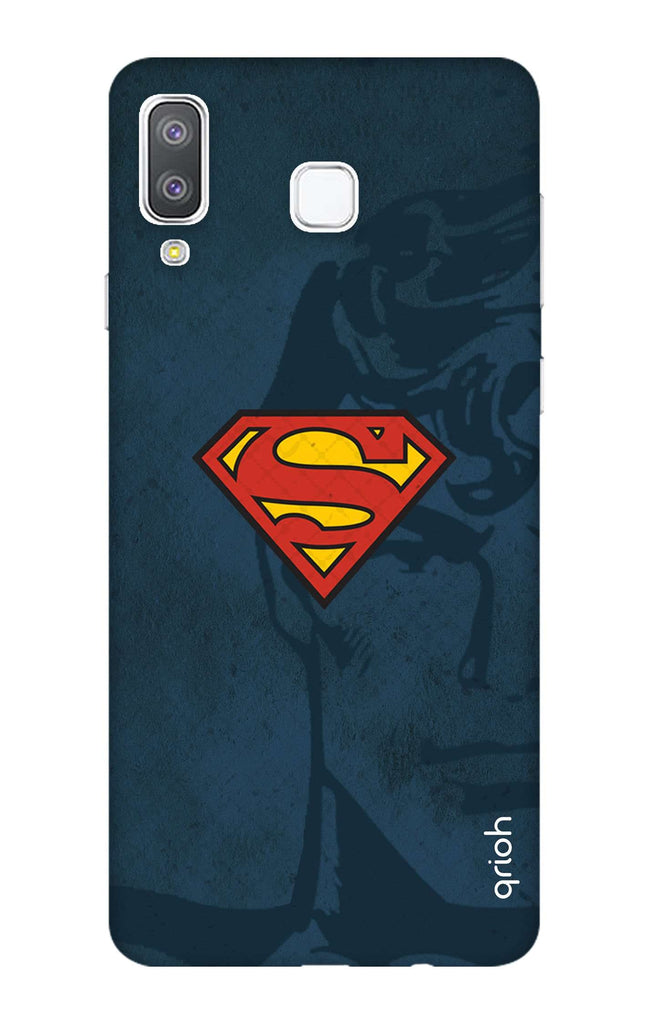 new product 3ec0a 15499 Wild Blue Superman Case for Samsung Galaxy A8 Star