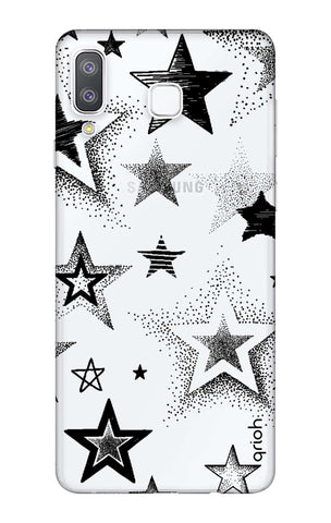 Black Stars Samsung Galaxy A8 Star Cases & Covers Online