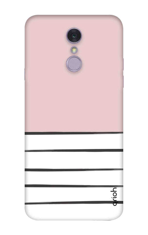 Horizontal Stripe LG Q7 Cases & Covers Online