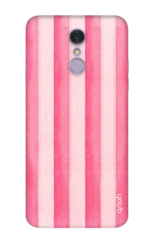 Painted Stripe LG Q7 Cases & Covers Online