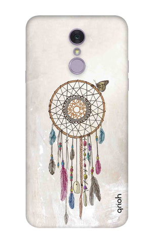 Butterfly Dream Catcher LG Q7 Cases & Covers Online